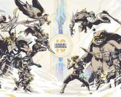 League of Legends celebra os seus 10 anos anunciando novos xogos