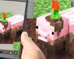 Minecraft Earth chega a España