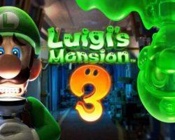 "Luigi""s Mansion 3 chega hoxe a Nintendo Switch"